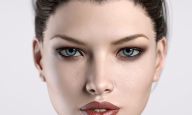 Eye Surfaces on Genesis Figures
