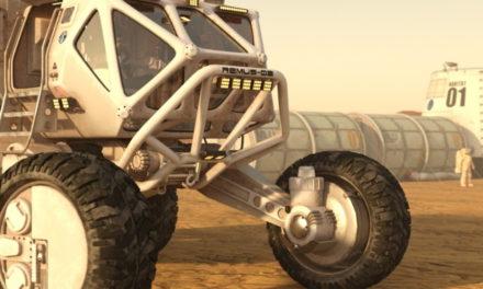 Mars Exploration with DAZ Studio