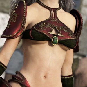 Battle Driven Outfit for Genesis 3 Female(s)