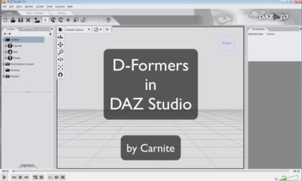 D-Formers in DAZ Studio