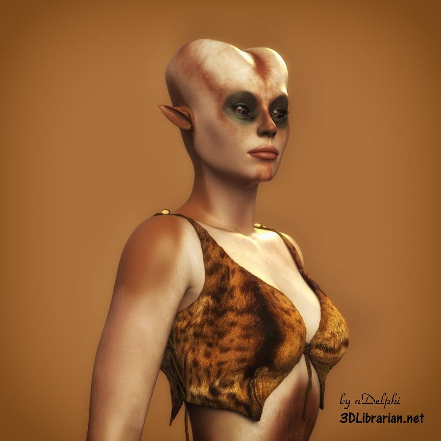 Ursila: An Alien Portrait - 02