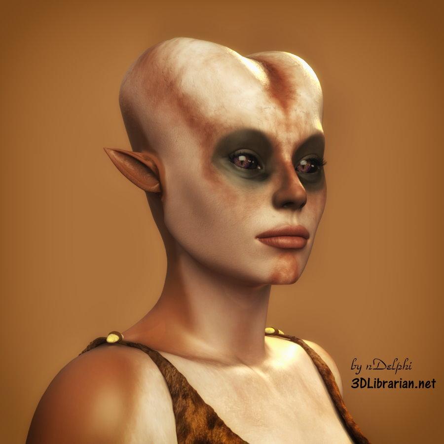 Ursila: An Alien Portrait - 03