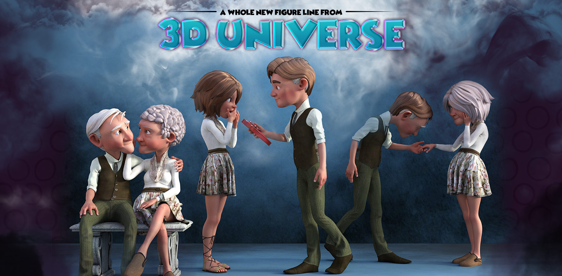 3D Universe's Toon Generations 2