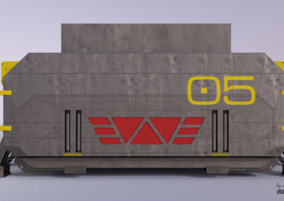 Prometheus - Airlock-Garage Module - 01