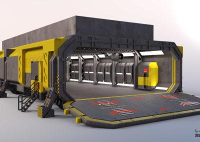 Prometheus - Airlock-Garage Module - 02